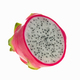 Dragon fruit cut half on white background. - PhotoDune Item for Sale
