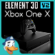 Xbox One X for Element 3D - 3DOcean Item for Sale