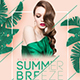 Summer Breeze Party Flyer-Graphicriver中文最全的素材分享平台