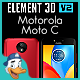 Motorola Moto C for Element 3D - 3DOcean Item for Sale