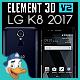 LG K8 2017 for Element 3D - 3DOcean Item for Sale
