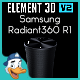 Samsung Radiant360 R1 for Element 3D - 3DOcean Item for Sale