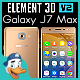 Samsung Galaxy J7 Max for Element 3D - 3DOcean Item for Sale