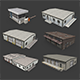 Industrial Buildings Pack - 3DOcean Item for Sale