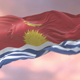 Flag of Kiribati at Sunset - VideoHive Item for Sale