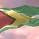 Flag of Guyana at Sunset - VideoHive Item for Sale