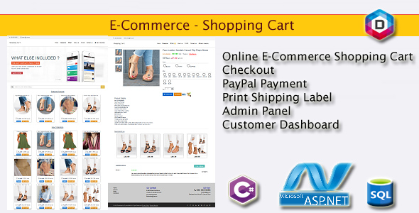 E-Commerce - Shopping Cart - CodeCanyon Item for Sale