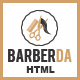 Barberda - HTML Template for Barbers and Hair Salon - ThemeForest Item for Sale