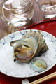 sazae no tsuboyaki, grilled horned turban shell, japanese food - PhotoDune Item for Sale