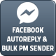 Facebook Auto Reply & Bulk Private Message Sender - CodeCanyon Item for Sale