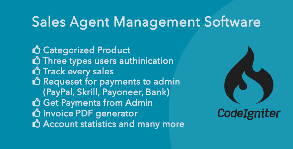 Sales Agent Management System (SAMS) - CodeCanyon Item for Sale