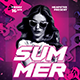 Dj Summer Party Flyer - GraphicRiver Item for Sale