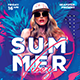 Dj Club SummerFlyer - GraphicRiver Item for Sale