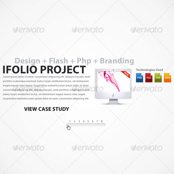 Portfolio Presentation - Web Elements