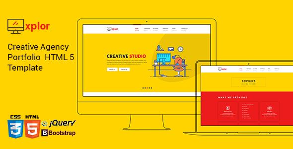 Xplor - Creative Agency Portfolio HTML Template