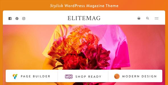 Image of Elitemag - Stylish WordPress Blog and Magazine Theme