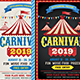 Carnival 2019 Flyer - GraphicRiver Item for Sale