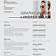 Minimalist CV Resume Templates - GraphicRiver Item for Sale