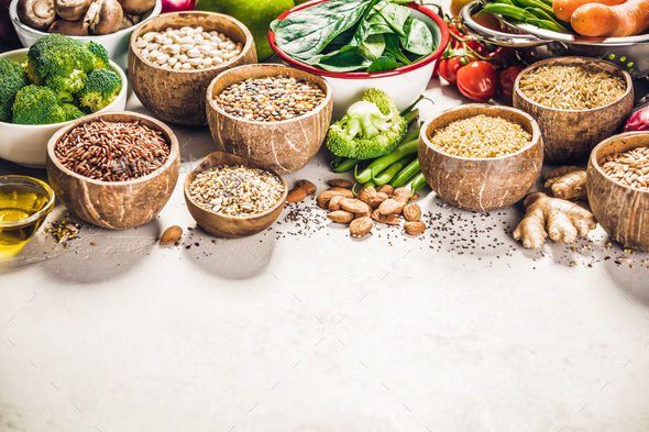 Health food concept - Stock Photo - Images