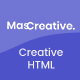 MasCreative - Creative Agency HTML Template - ThemeForest Item for Sale