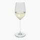 Glass Riedel Superleggero Viognier With Wine