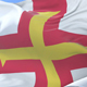 Flag of Guernsey Waving - VideoHive Item for Sale