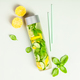 Infused water-flat lay - PhotoDune Item for Sale