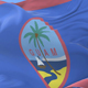 Guamanian Flag Waving - VideoHive Item for Sale