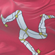 Flag of the Isle of Man Waving - VideoHive Item for Sale