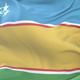 Flag of Karakalpakstan Waving - VideoHive Item for Sale