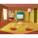 Vector Cartoon Interior of Playroom for Children - GraphicRiver Item for Sale