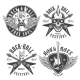 Rock and Roll Emblems - GraphicRiver Item for Sale