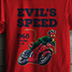 Design T-Shirt with Motorcycle Races Theme - GraphicRiver Item for Sale
