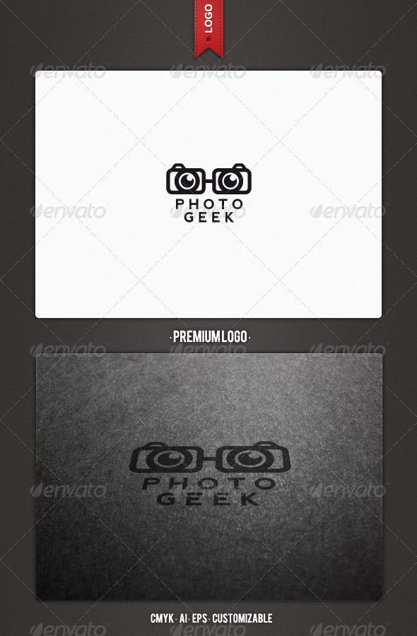 Photo Geek Logo Template - Humans Logo Templates