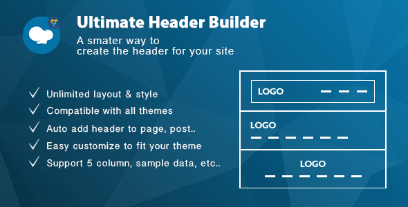 Ultimate Header Builder - Addon WPBakery Page Builder (formerly Visual Composer) - CodeCanyon Item for Sale