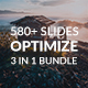 Optimize 3 in 1 Premium Bundle Powerpoint Template