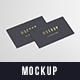 Business Cards Mockup 90x50