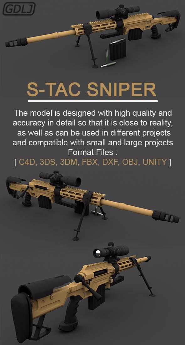 S-TAC Sniper - 3DOcean Item for Sale