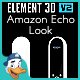 Amazon Echo Look for Element 3D - 3DOcean Item for Sale