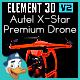 Autel X-Star Premium Drone for Element 3D