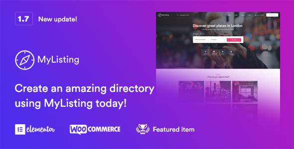 MyListing - Directory & Listing WordPress Theme - Directory & Listings Corporate