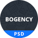 Bogency - Creative agency  PSD Template - ThemeForest Item for Sale