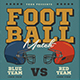 Old America Football Flyer - GraphicRiver Item for Sale