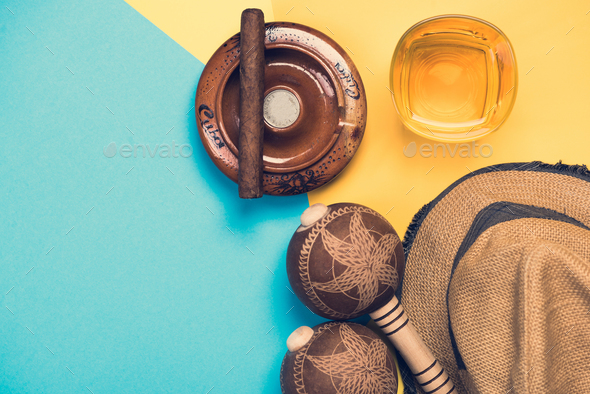 Items related to Cuba and exotic vacations - Stock Photo - Images
