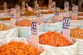 Various Dried Shrimp For Sale At Market - PhotoDune Item for Sale
