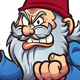 Angry Cartoon Gnome - GraphicRiver Item for Sale