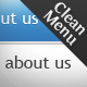 Clean Menu - GraphicRiver Item for Sale