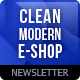 Clean E-commerce Newsletter - GraphicRiver Item for Sale