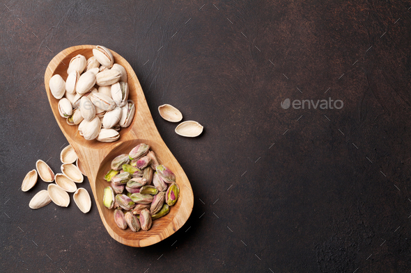 Pistachio nuts - Stock Photo - Images