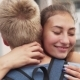 Face of Loving Happy Girl Hugs Her Boyfriend - VideoHive Item for Sale
